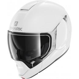 Prilba na motorku SHARK Evojet Blank white