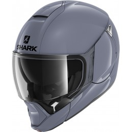 Prilba na motorku SHARK Evojet Blank graphite gray