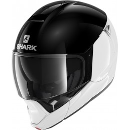 Prilba na motorku SHARK Evojet Dual Blank white black white