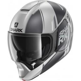 Prilba na motorku SHARK Evojet Vyda grey white