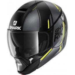 Prilba na motorku SHARK Evojet Vyda black anthracite yellow