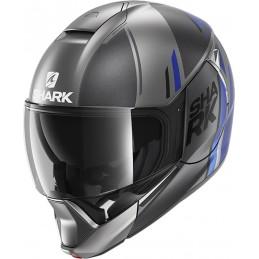 Prilba na motorku SHARK Evojet Vyda anthracite blue black