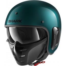 Prilba na motorku SHARK S-Drak 2 Blank green green metal