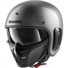 Prilba na motorku SHARK S-Drak 2 Glitter silver silver glitter
