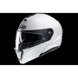 Prilba na motorku HJC i90 pearl white