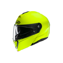 Prilba na motorku HJC i90 fluorescent green