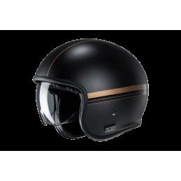 Prilba na motorku HJC V30 Equinox black gold