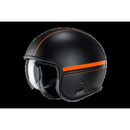 Prilba na motorku HJC V30 Equinox black orange