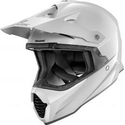 Prilba na motorku SHARK Varial Blank white