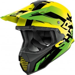 Prilba na motorku SHARK Varial Anger yellow black green