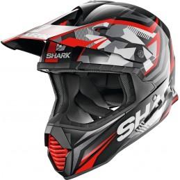 Prilba na motorku SHARK Varial Replica Tixier black glitter red