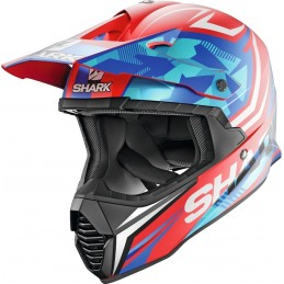 Prilba na motorku SHARK Varial Replica Tixier red white blue