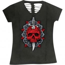 Dámske tričko LETHAL THREAT LA20707