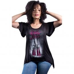 Dámske tričko LETHAL THREAT LA20528