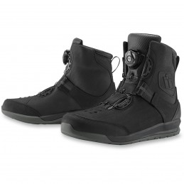 Topánky na motocykel ICON patrol 2 black
