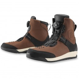 Topánky na motocykel ICON patrol 2 brown