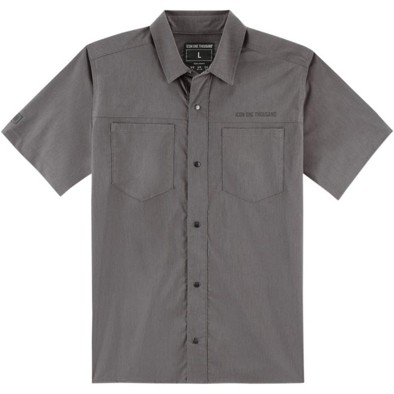 Tričko ICON  counter šedé