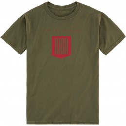 Tričko ICON baseline zeleno-červené