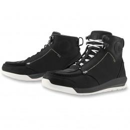 Topánky na motocykel ICON truant 2 čierno-biele
