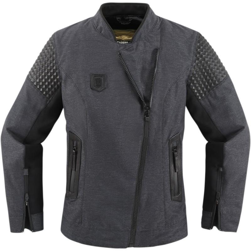 Dámska bunda ICON tuscadero čierno-šedá