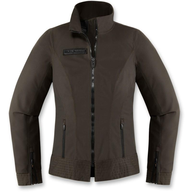 Dámska bunda ICON fairlady čierno-zelená