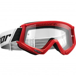 MX okuliare THOR combat red/white