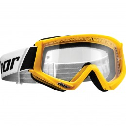 MX okuliare THOR combat yellow/white