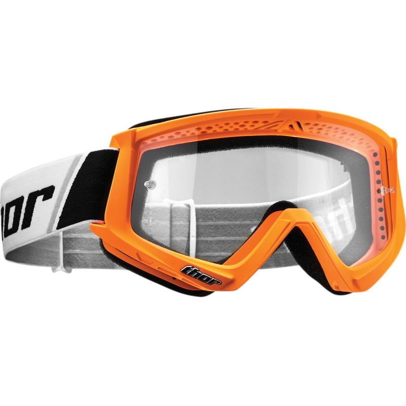 MX okuliare THOR combat FLO orange/white