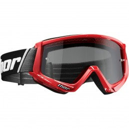 MX okuliare THOR Combat Sand black/red