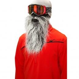Maska na tvár CRAZYEARS Beardski Biker grey
