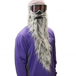 Maska na tvár CRAZYEARS Beardski Easy rider gray