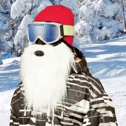 Maska na tvár CRAZYEARS Beardski Santa White
