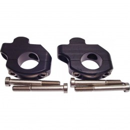 Adaptér na zvýšenie riadidiel LSL 28mm black odsadené 127Y101SW