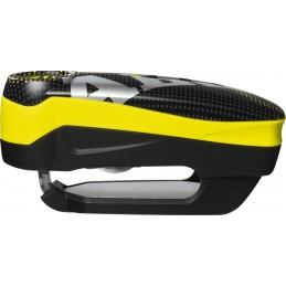 Zámok na motocykel ABUS Detecto 7000 RS1 pixel black/yellow