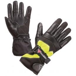 Detské rukavice na motorku MODEKA Freeze Evo black/yellow