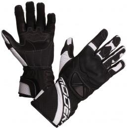Dámske rukavice na motorku MODEKA Lady black/white