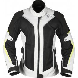 Dámska bunda na motorku MODEKA Mikka Air black/white