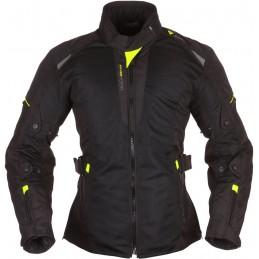 Dámska bunda na motorku MODEKA Upswing Damen black/neon
