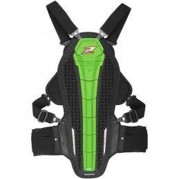 Chráničová vesta na motocykel ZANDONA Hybrid Armor X6 green
