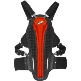 Chráničová vesta na motocykel ZANDONA Hybrid Armor X7 red