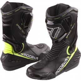 Topánky na motorku MODEKA Speed Tech black/yellow
