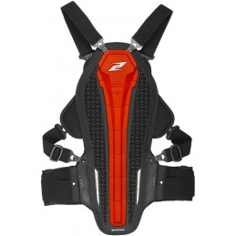 Chráničová vesta na motocykel ZANDONA Hybrid Armor X8 red
