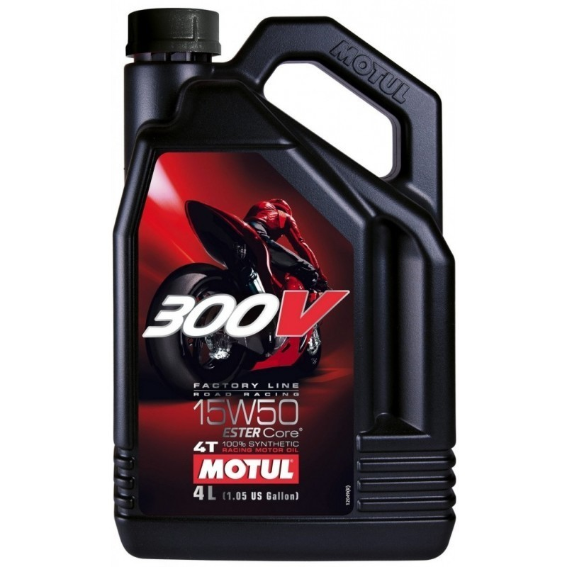MOTUL 300V FL Road Racing 15W50 4T 4l