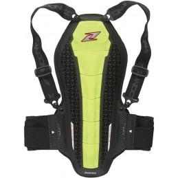 Chráničová vesta na motocykel ZANDONA Hybrid Back Pro X6 yellow