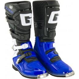 Detské topánky na motorku GAERNE GX-J black/blue