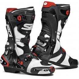 Topánky na motorku SIDI Rex white/black