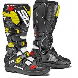 Topánky na motorku SIDI Crossfire 3 SRS black/yellow/red