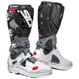 Topánky na motorku SIDI Crossfire 3 SRS black/gray/white