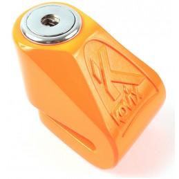Zámok na motocykel KOVIX KN1 orange