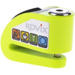 Zámok na motocykel KOVIX KD6 green